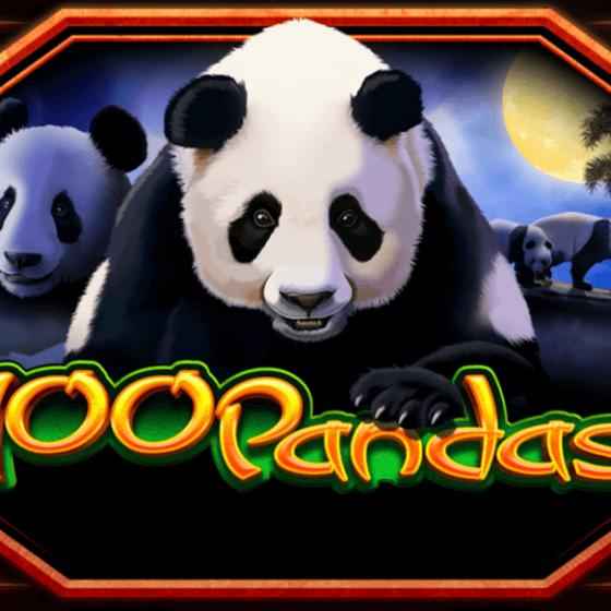 100 Pandas Slot logo