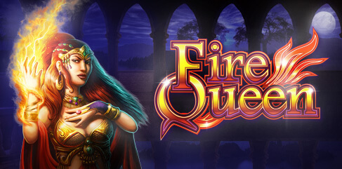 Fire Queen Slot logo